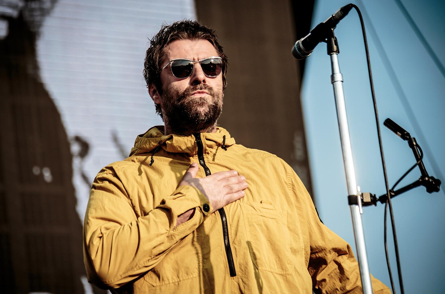 Liam Gallagher dio a conocer el título de su próximo álbum