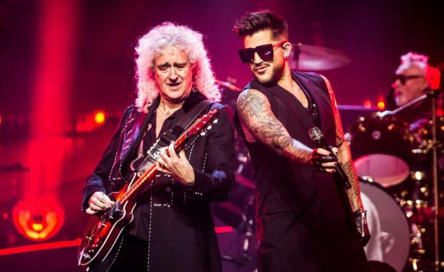 Brian May dice que Adam Lambert puede superar a Freddie Mercury