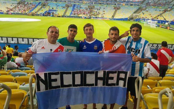 Mariano Gargiulo, un necochense siguiendo a Argentina en la Copa América