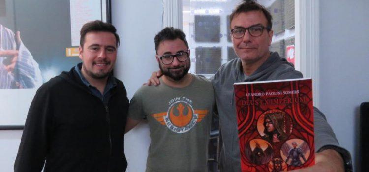 Leandro Paolini Somers presentará su libro «Deus ex Imperium» en Necochea