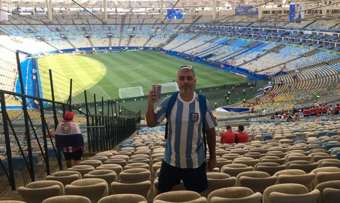Germán Moscuzza contó cómo se vive la Copa América desde Río de Janeiro