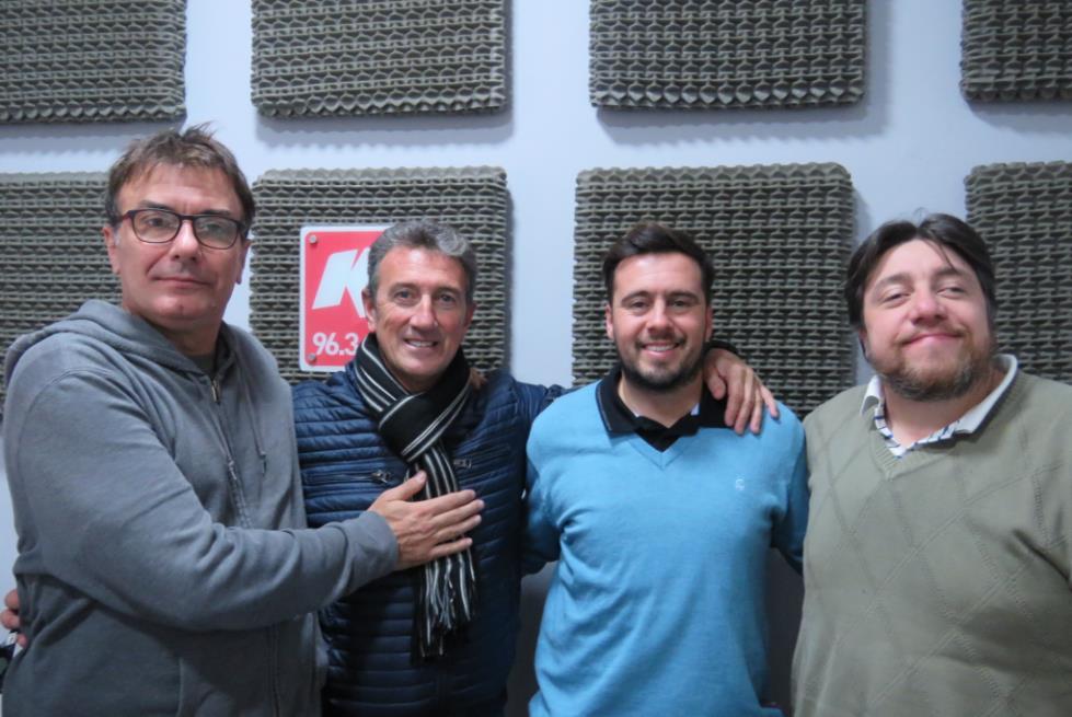 Marcelo Yorno se sumó a Actitud Solidaria