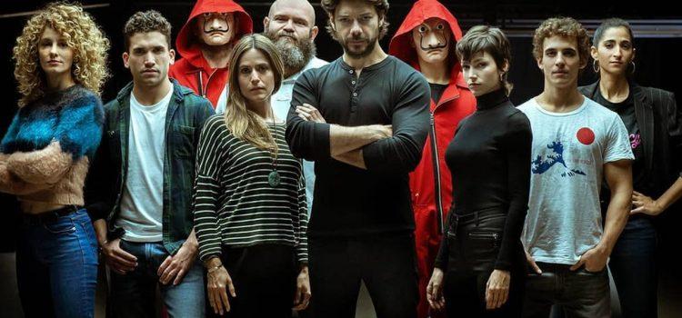 Confirmaron la cuarta temporada de «La Casa de Papel»