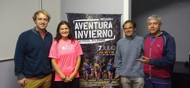 El grupo Delfo Cabrera se sumó a la Aventura Invierno