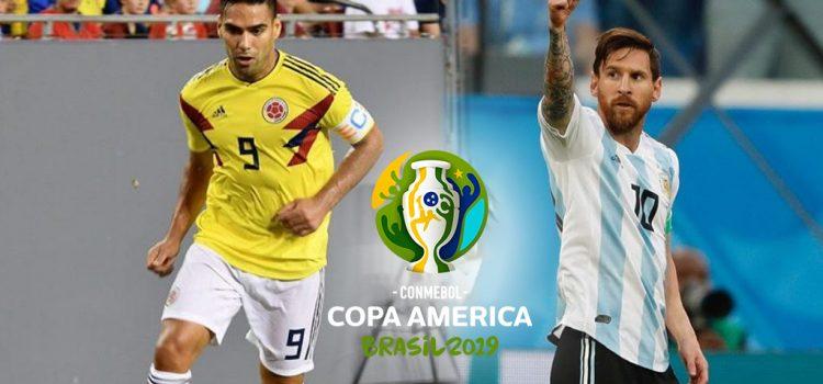 Argentina hace su estreno ante Colombia en la Copa América 2019: hora, TV y formaciones