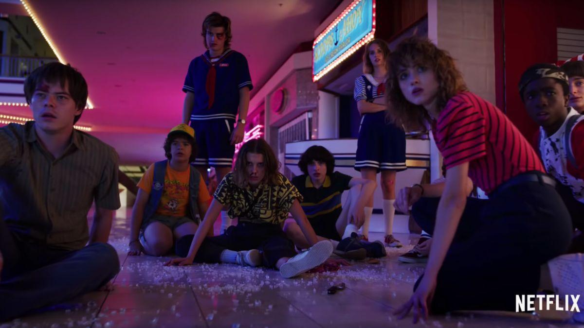 Stranger Things estrenó el tráiler final de su tercer temporada