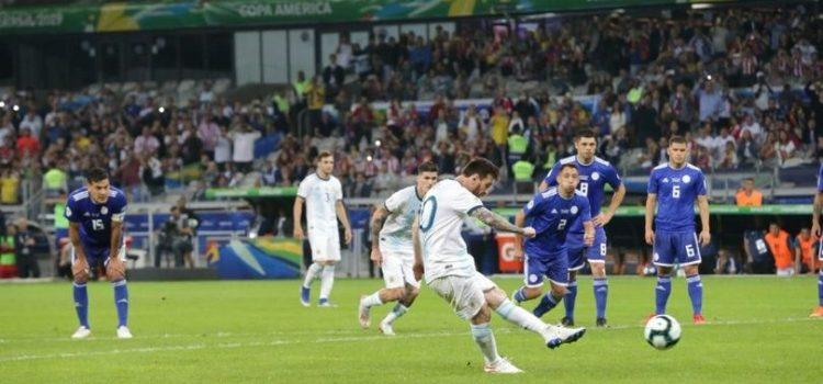 Argentina igualó 1 a 1 con Paraguay y deberá ganarle a Qatar