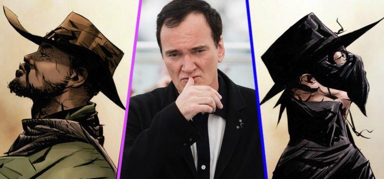 Quentin Tarantino realizará el crossover entre Django y El Zorro