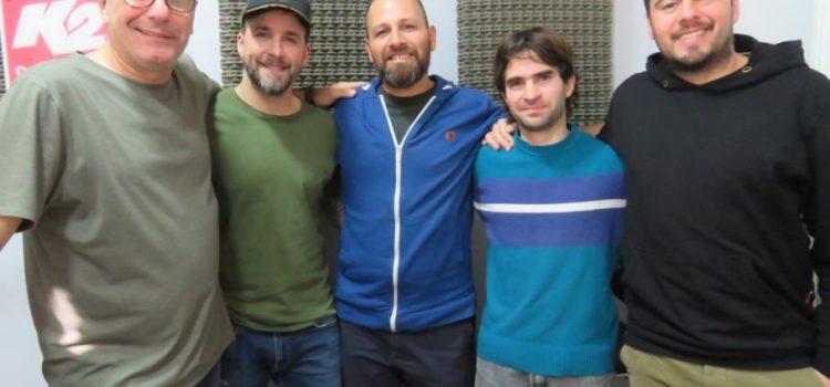 La Barba de Platón presentó su EP «El Libro» en Segundos Afuera
