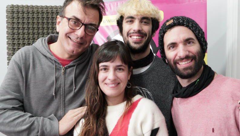 Jeites pasó por Segundos Afuera en la previa del show en el Centro Cultural de Necochea