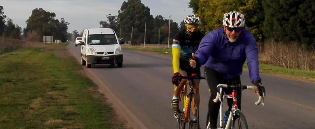 Mario Juliano completó la primera etapa de su travesía y recaudó más de 100mil pesos para el hospital