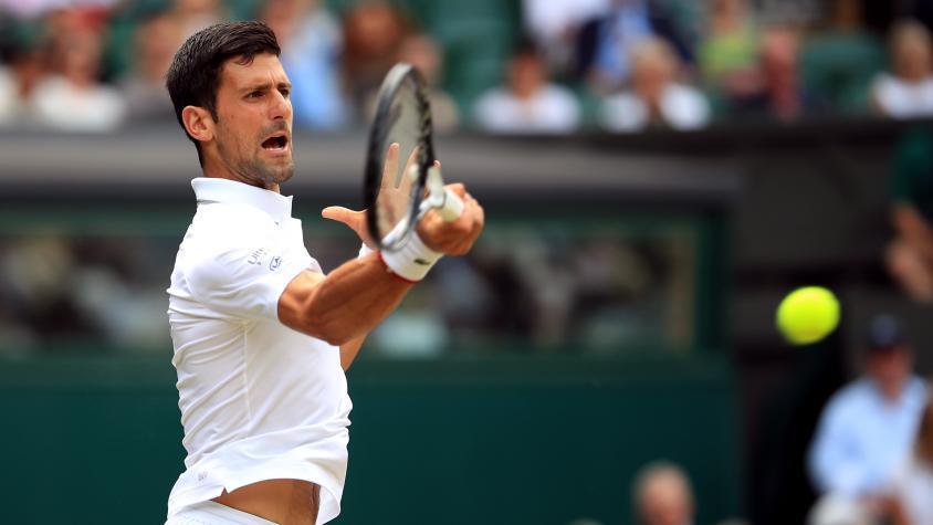 Wimbledon: Djokovic destrozó a Goffin y es semifinalista