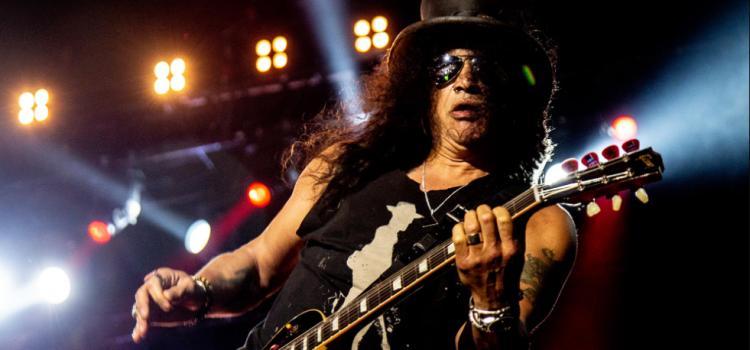 Slash anunció el lanzamiento de un DVD en vivo