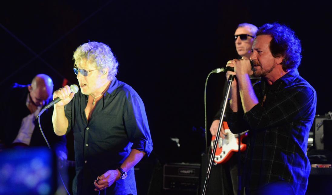 The Who estrenó nueva canción e invitó a Eddie Vedder al escenario
