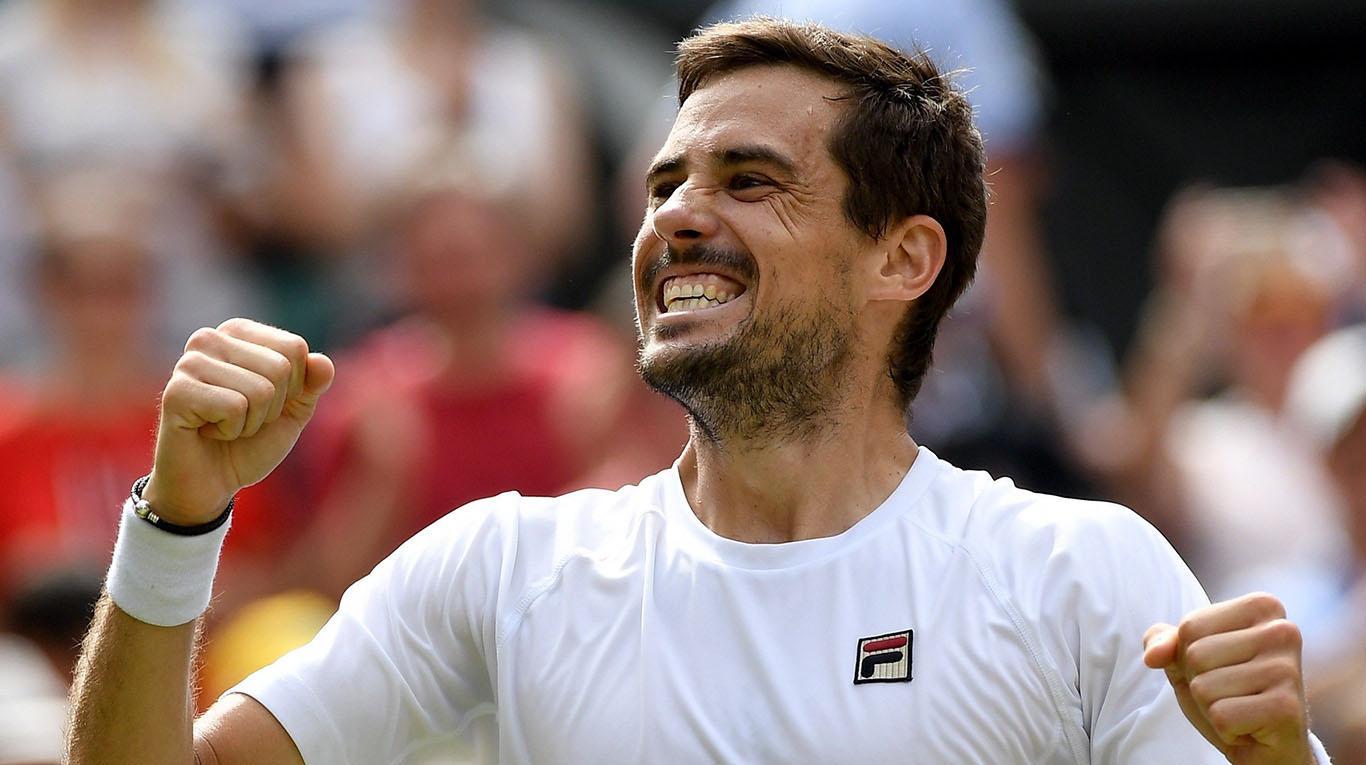 Batacazo de Guido Pella en Wimbledon