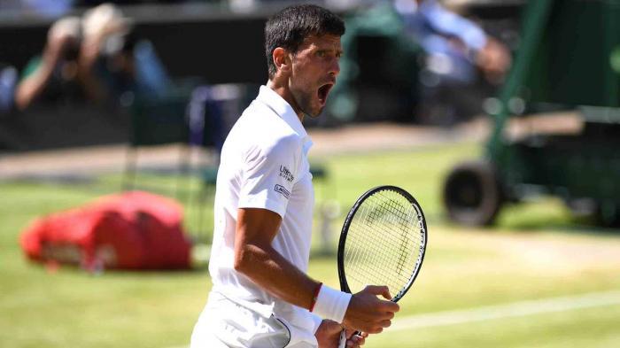 Novak Djokovic se metió en la final de Wimbledon y espera por Roger Federer o Rafael Nadal