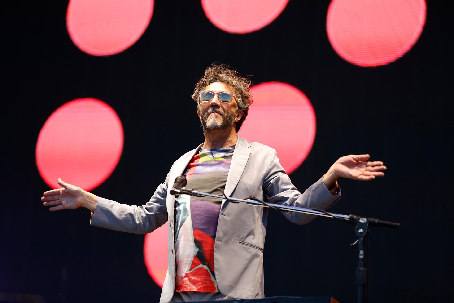 Fito Páez comenzó la grabación de su nuevo disco en Los Ángeles