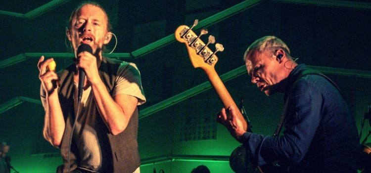 Thom Yorke estrenó canción junto a Flea de Red Hot Chili Peppers