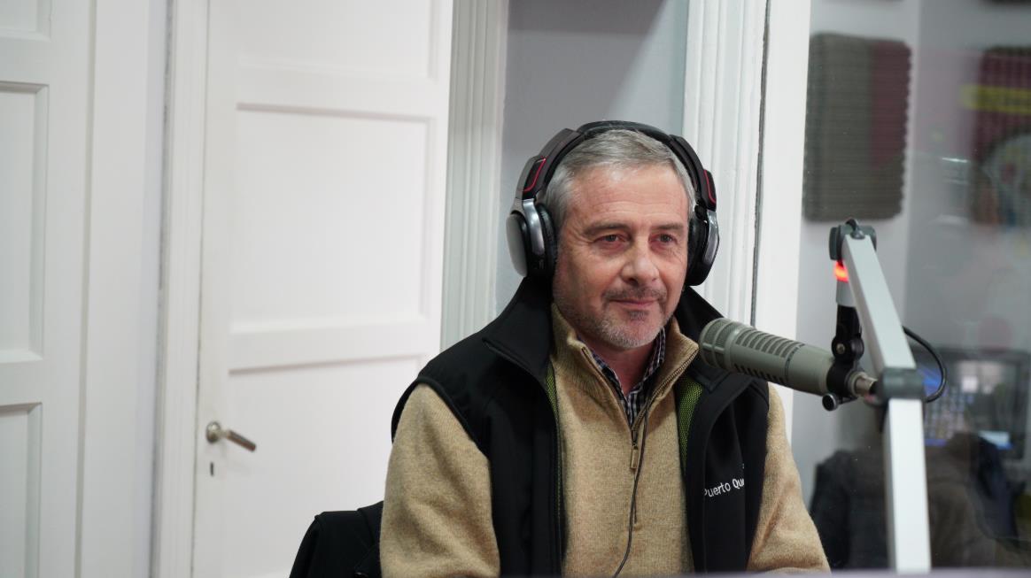 Oscar Morán nos explicó los detalles de la operatoria del Puerto Quequén