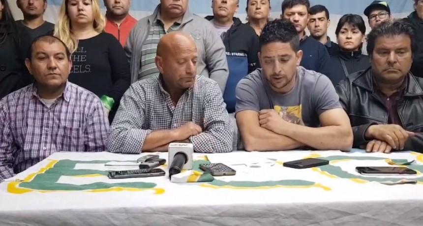 Gastón Díaz: «Hoy se depositaría una parte de los sueldos»