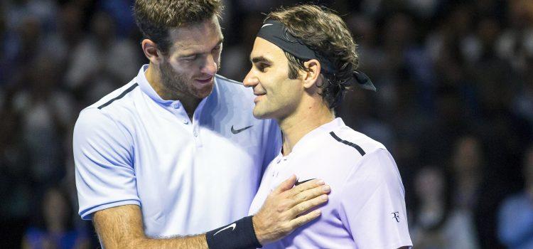 Juan Martín Del Potro y Roger Federer volverán a jugar en Argentina