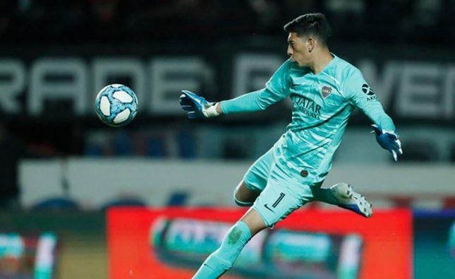 Esteban Andrada se entrena con normalidad en Boca, pero no atajaría ante Newell's