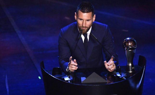 Lionel Messi ganó el premio The Best de la FIFA